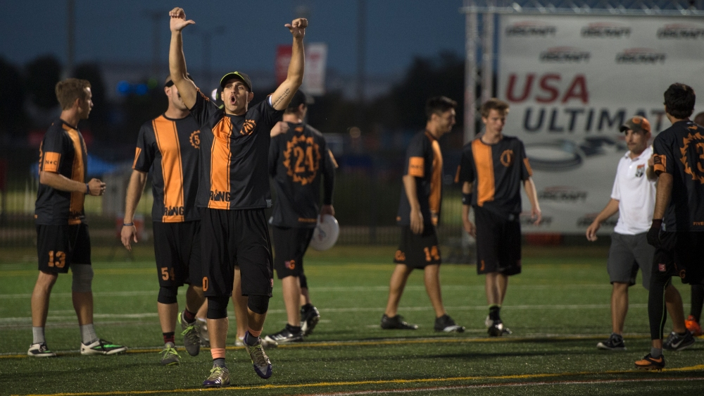 Men's Semi-Finals - USAU Club Nationals 2014
